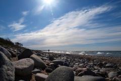 Am Strand von Markgrafenheide